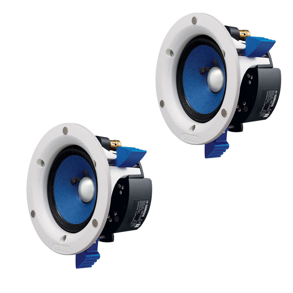 Yamaha Ns Ic400 4 In Ceiling Speaker Pair White
