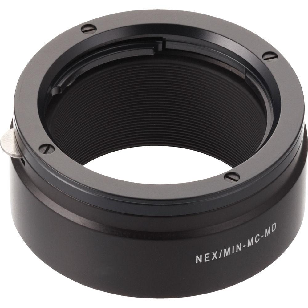 EOSM//MIN-MD Novoflex Adapter for Minolta MD// MC Lenses to EOS M Body