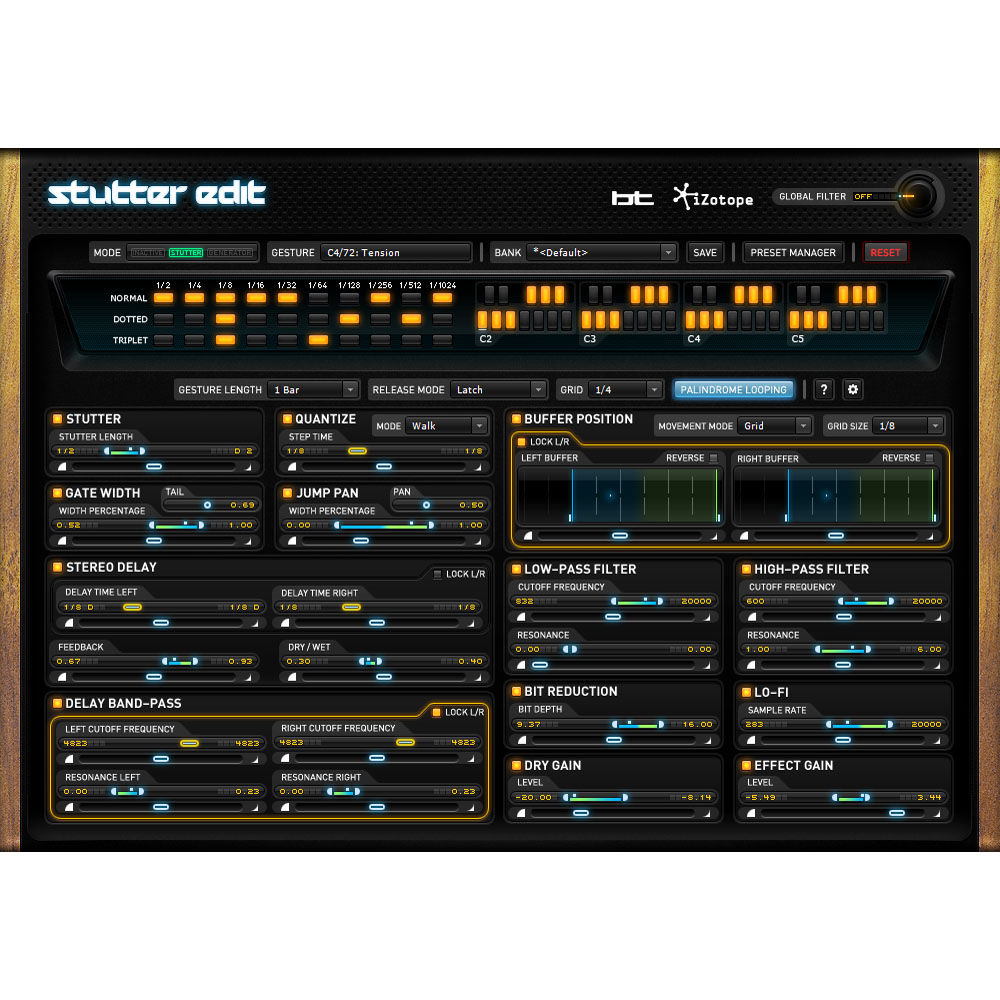 iZotope Stutter Edit - Audio Slicing and Manipulation Plug-In (Download)
