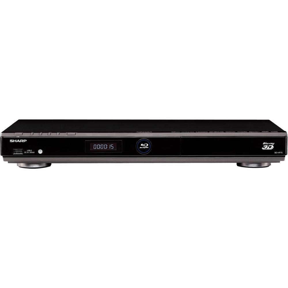 Sharp BD-HP75U Blu-ray Player (Black)