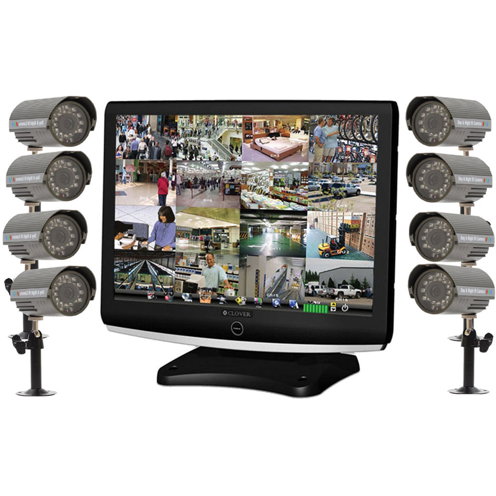 Clover Electronics 22 All In One System Lcd22168 B H