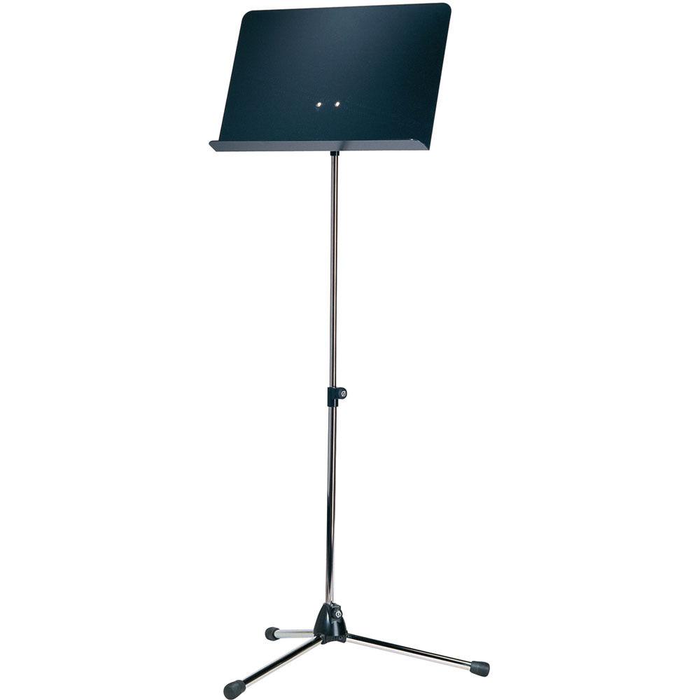 K/&M Music Stand Baseline Nickel