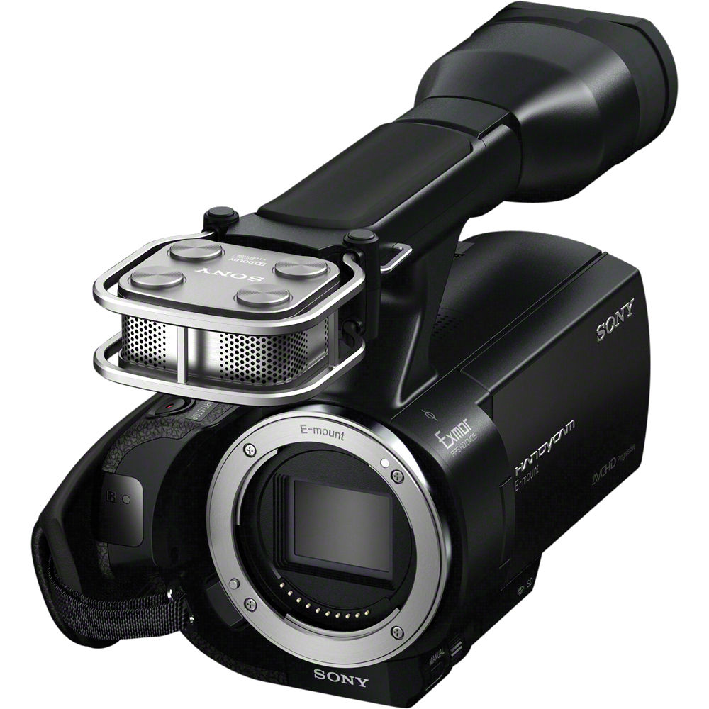 purchase cheap special for shoe arriving Sony NEX-VG20 Interchangeable Lens HD Handycam Camcorder (Body Only)
