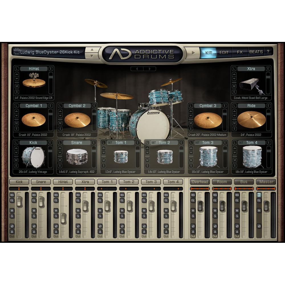 XLN Audio Retro ADpak - Expansion Pack for Addictive Drums