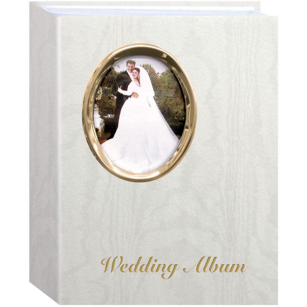 Pioneer Photo Albums Oval Framed Wedding Album 4 X Waf46 G B H