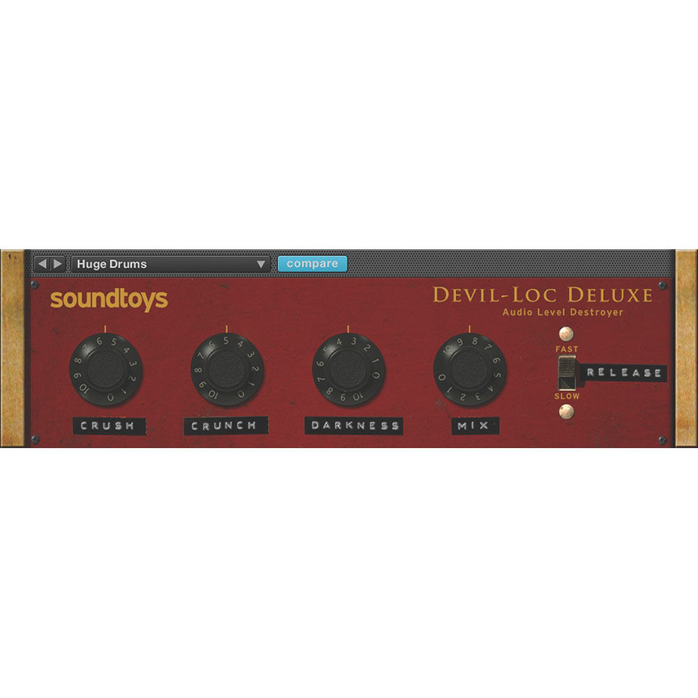 SoundToys Devil-Loc Deluxe - Audio Level Destroyer