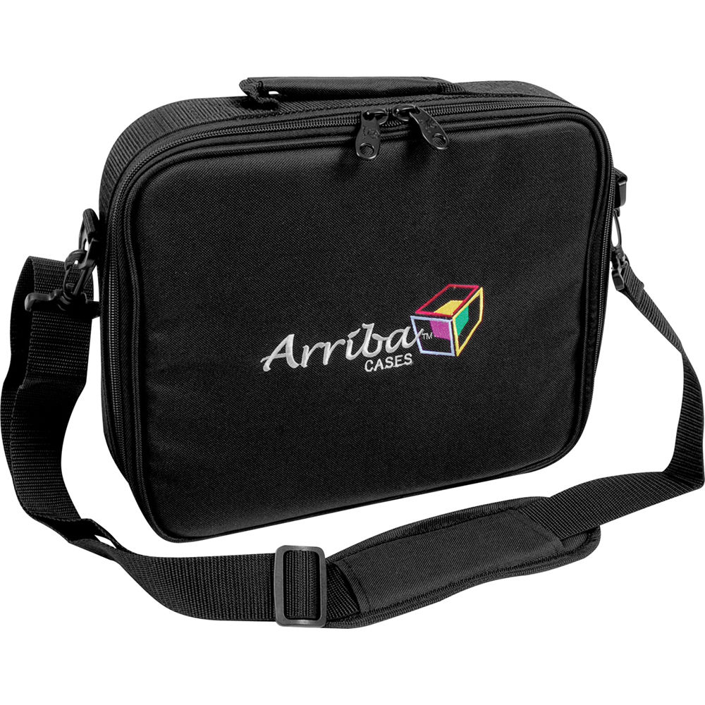 Arriba AL56 Deluxe Wireless Microphone System Case Bag Pouch