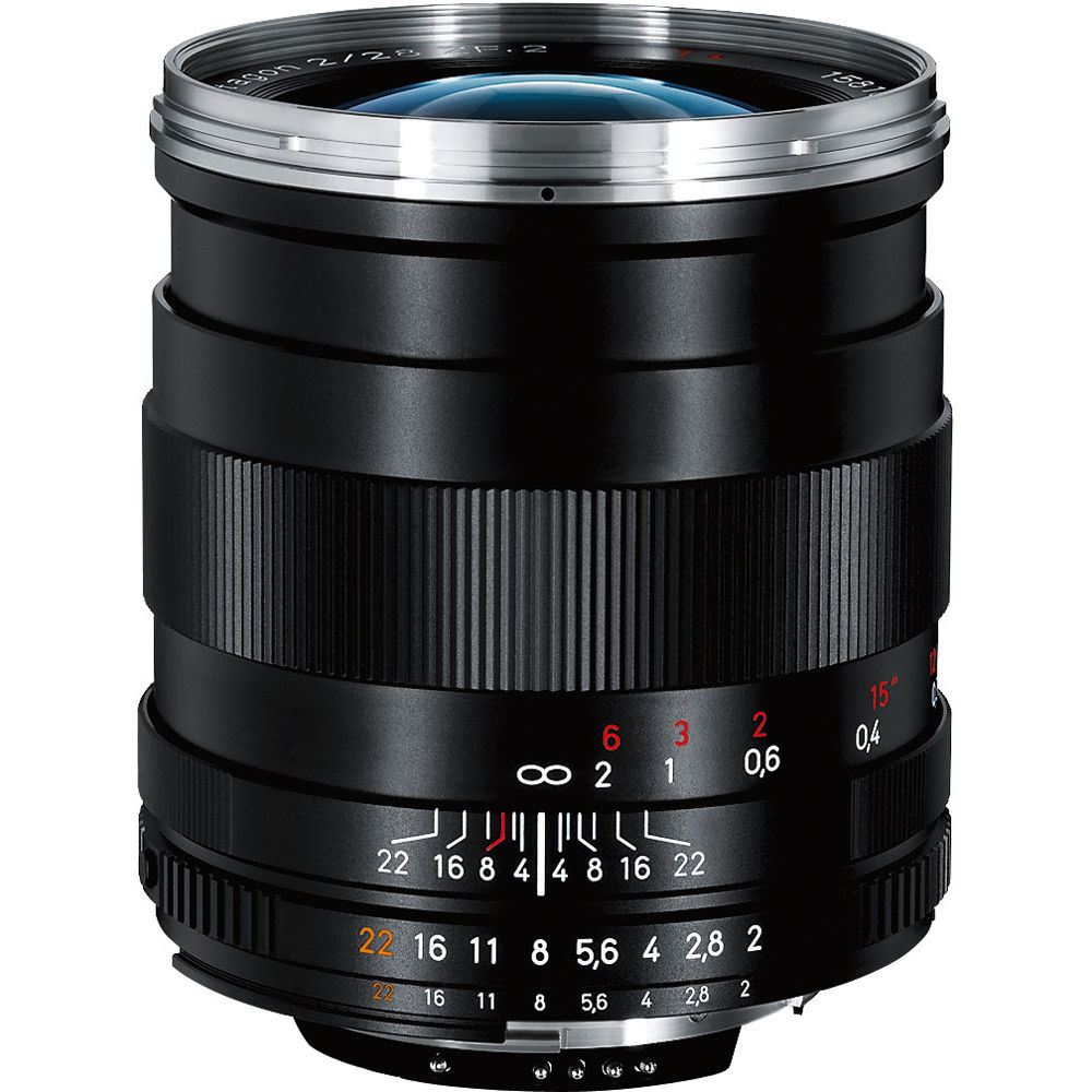ZEISS Distagon T* 28mm f/2 ZF 2 Lens for Nikon F