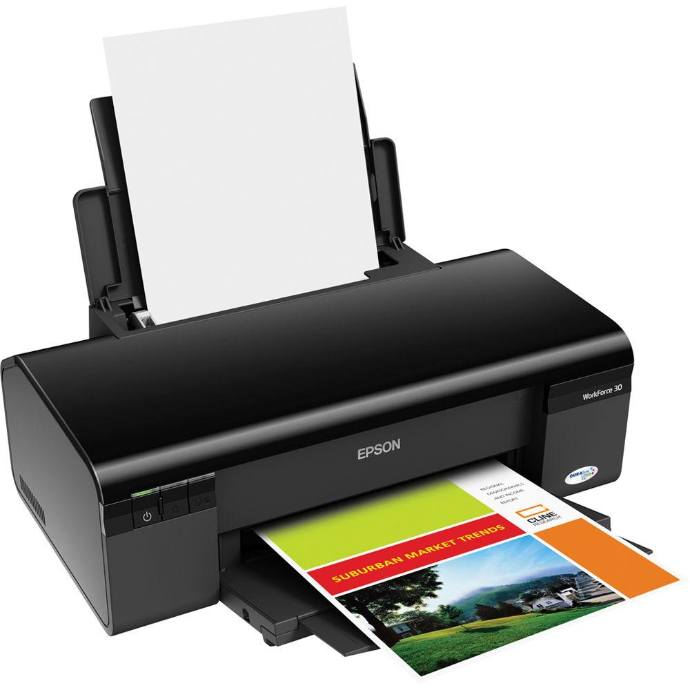 Epson WorkForce 30 Color Inkjet Printer