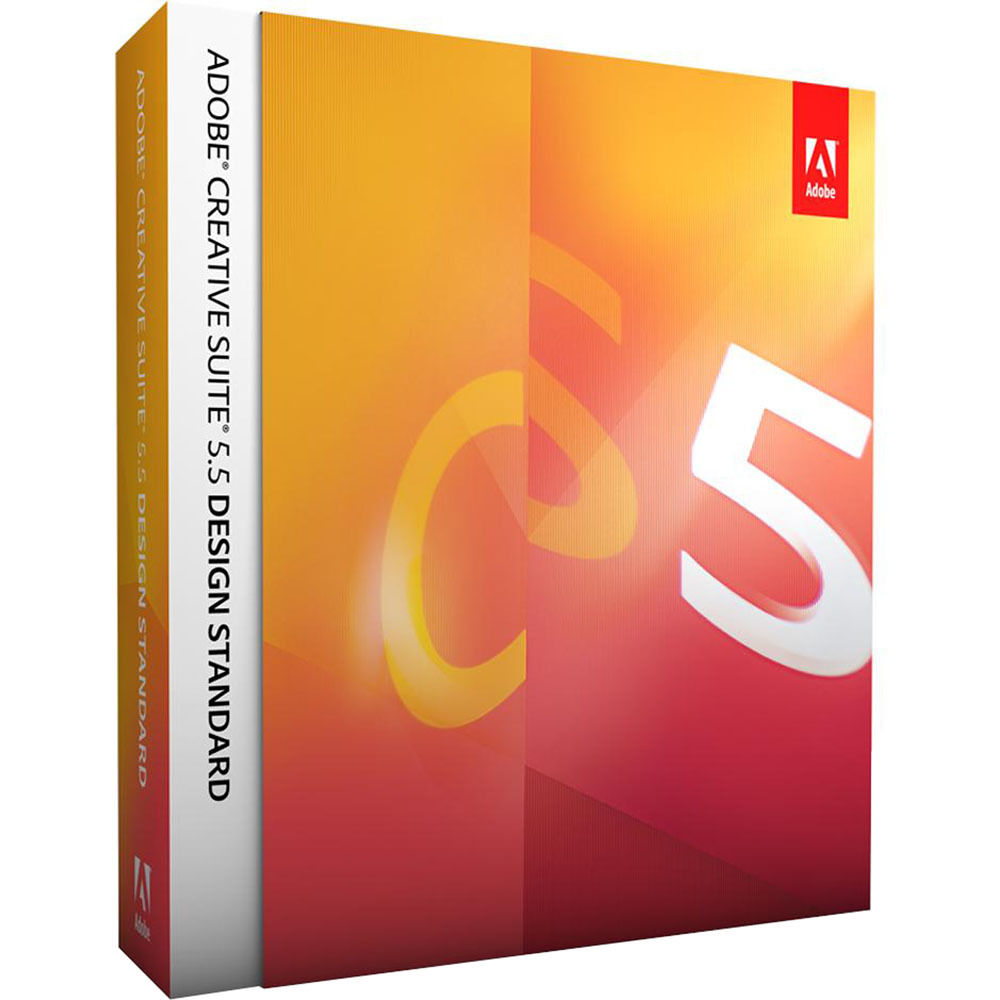 Adobe Creative Suite 5 5 Design Standard Software 65120577 B H