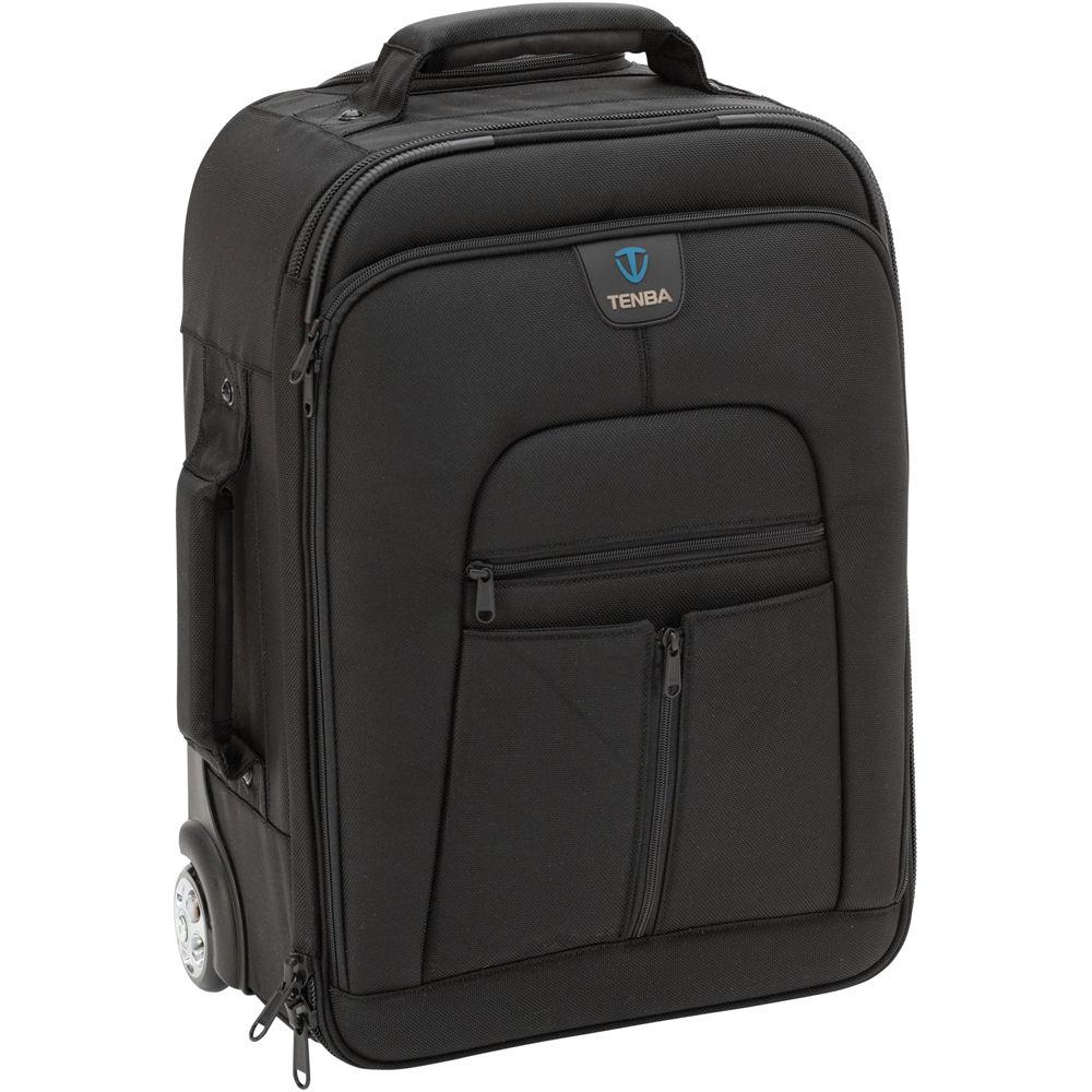 Tenba Roadie Ii Universal Hybrid Roller Backpack Black B H