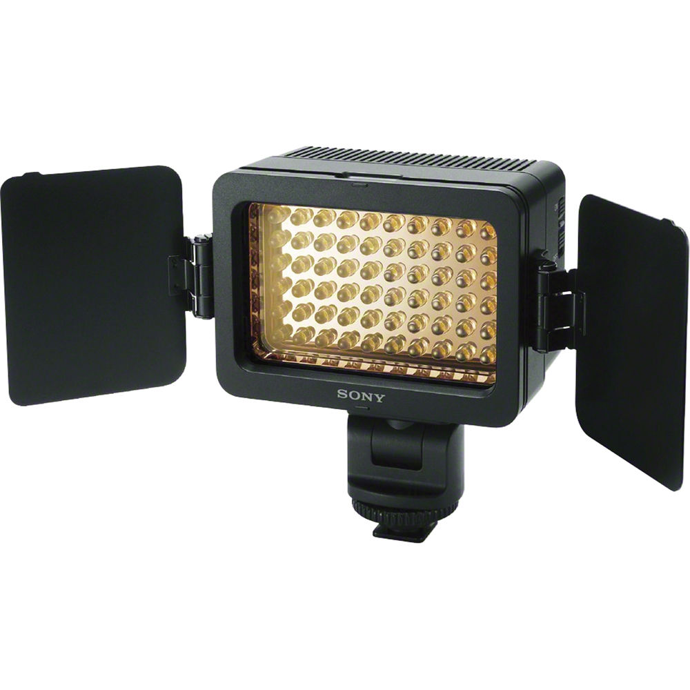 sony handycam light attachment