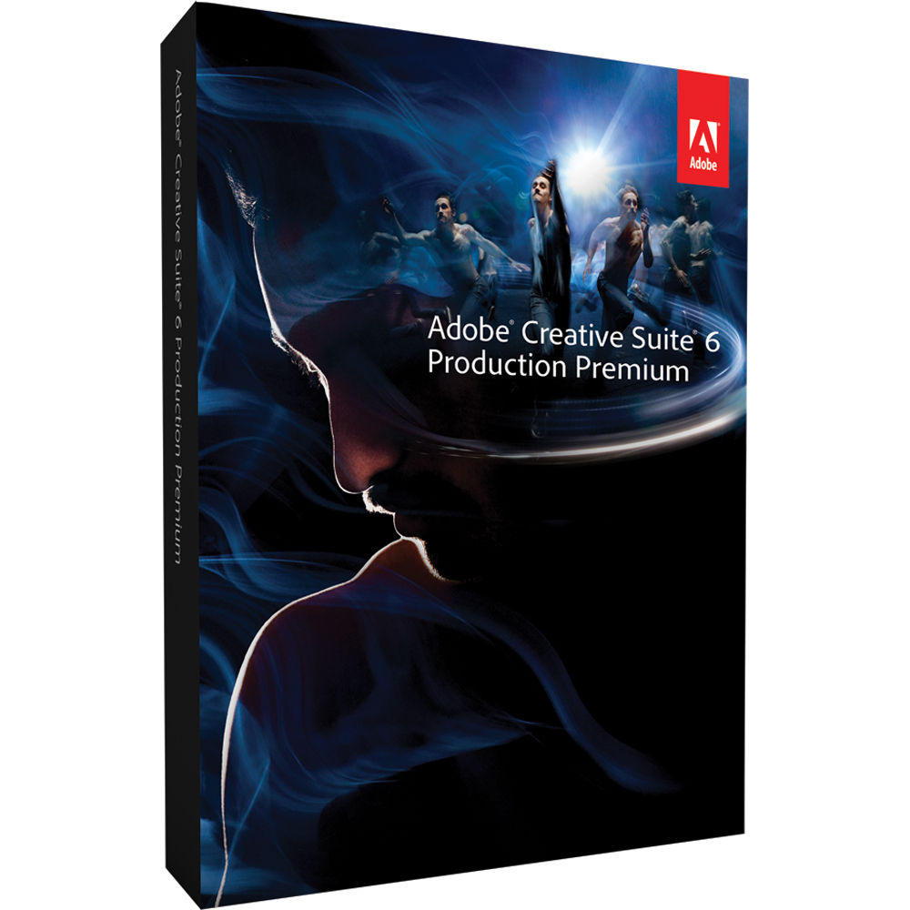 Adobe Creative Suite 6 Production Premium For Sale