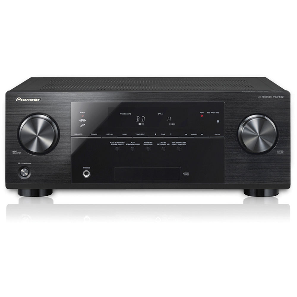 Pioneer VSX-822-K 5 1-Channel 3D Ready A/V Receiver