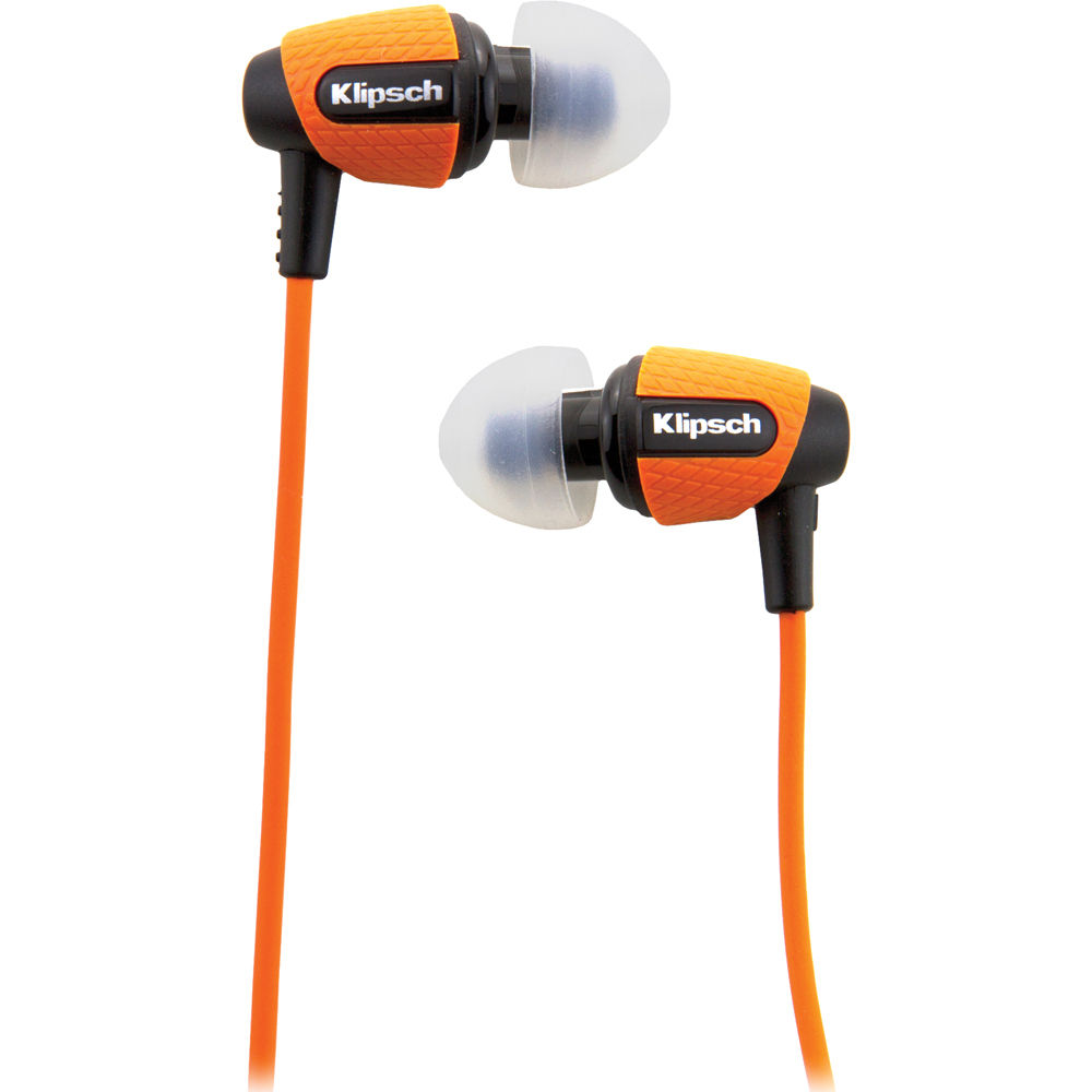 Klipsch Image S4i Rugged In Ear Headphones Orange