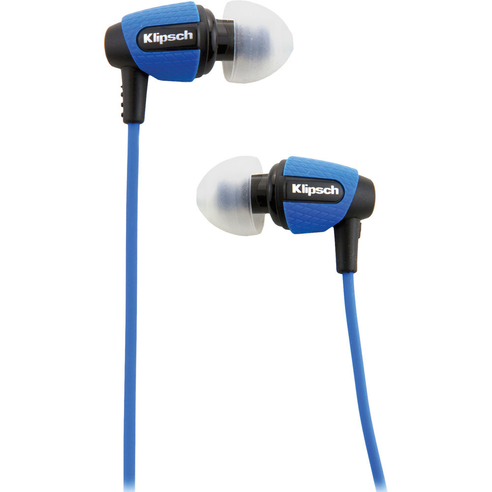 Klipsch Image S4i Rugged In Ear Headphones Blue
