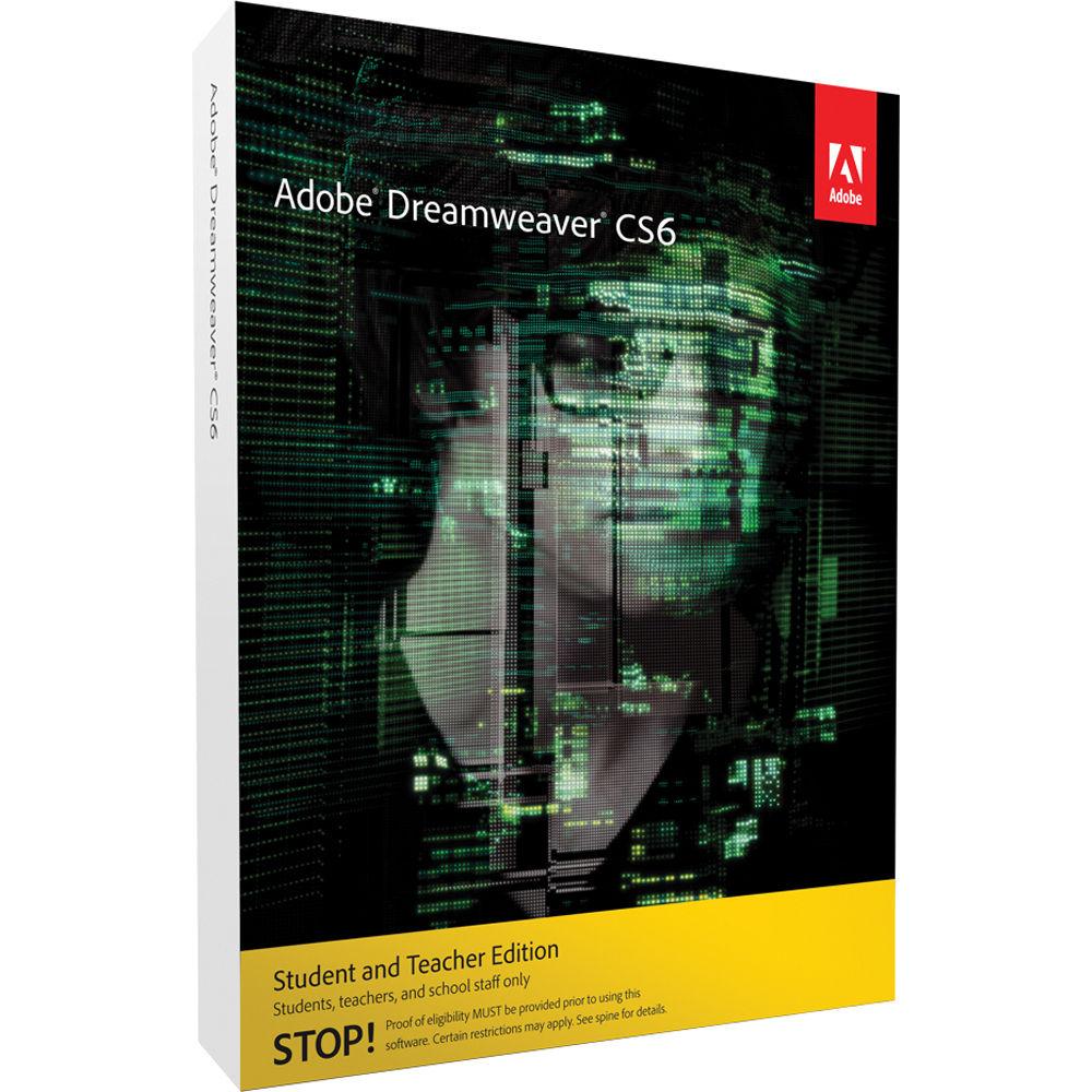 Buy Adobe Dreamweaver Cs6 Student And Teacher Edition Key