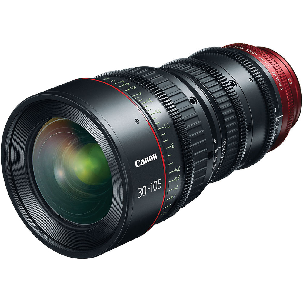 Canon CN-E 30-105mm T2 8 L S Telephoto Cinema Zoom Lens with EF Mount