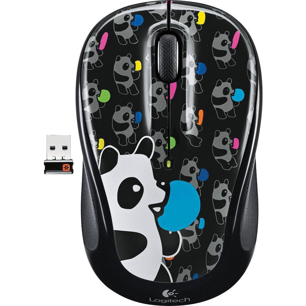 Logitech Wireless Mouse M325 (Panda Candy)