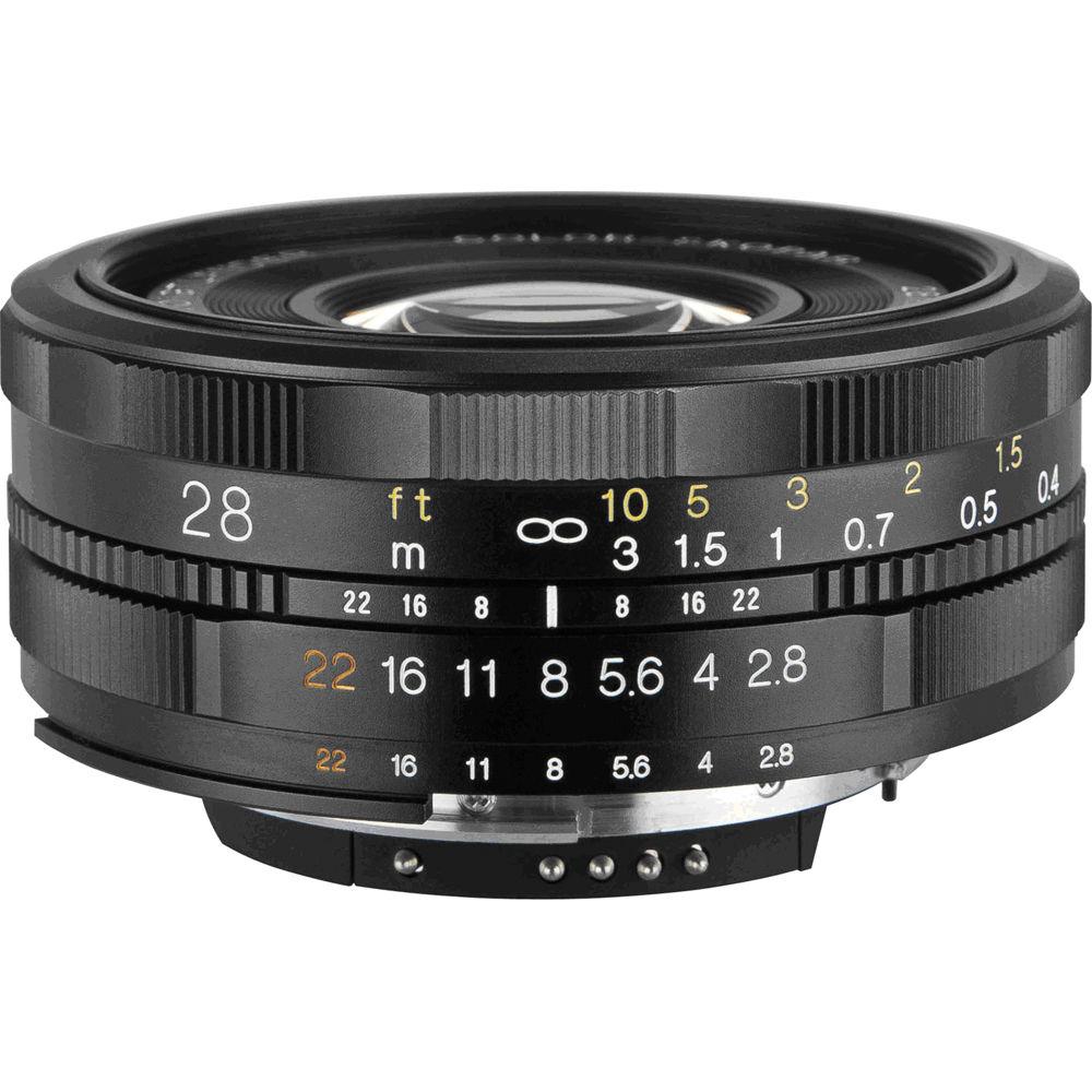 Voigtlander 28mm f/2 8 Color Skopar SL II Lens for Nikon