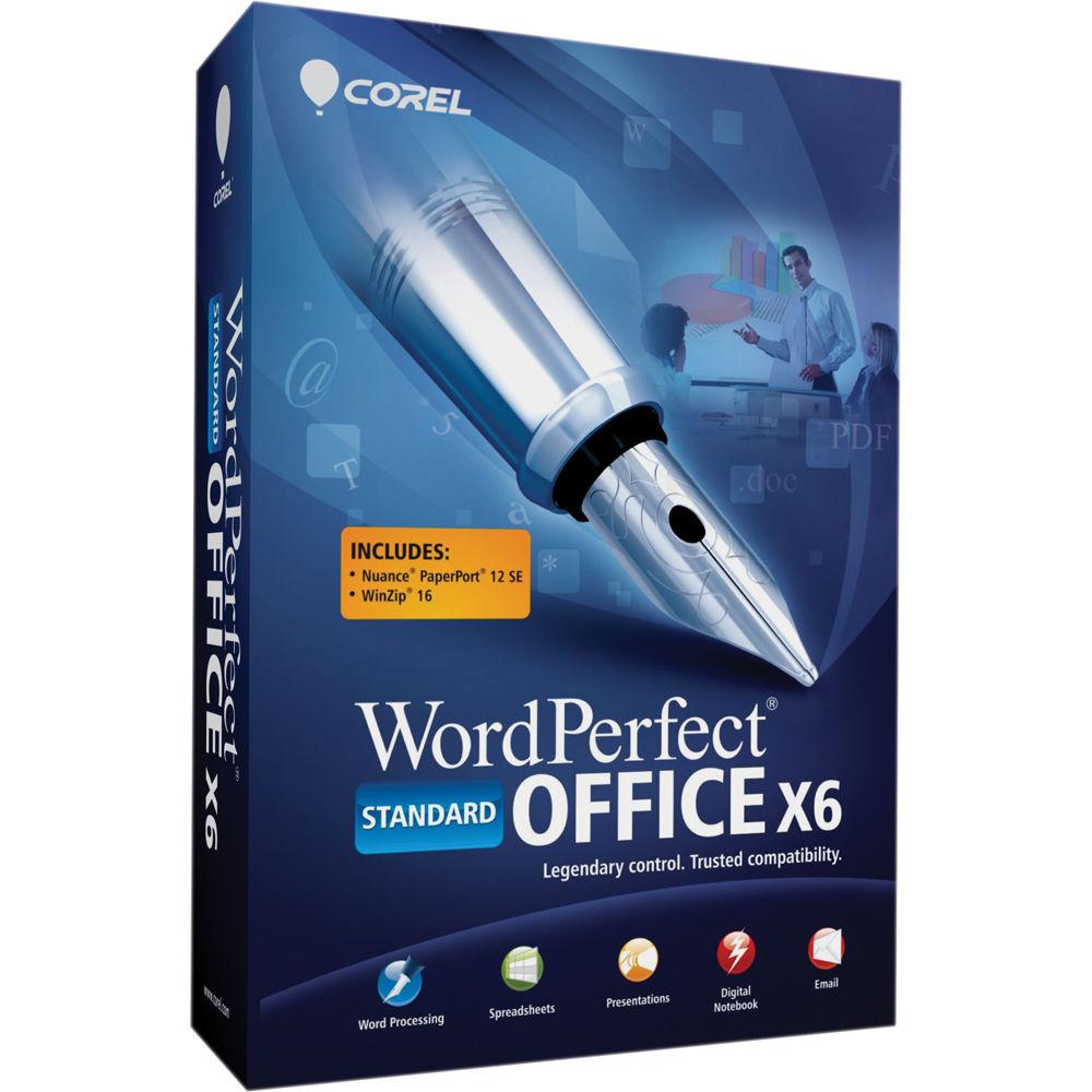 Wordperfect Office X6 Standard Edition 64-Bit
