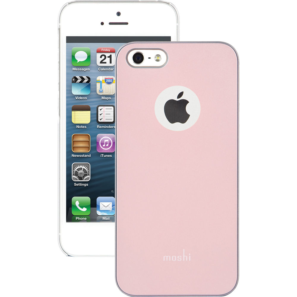 new product 82186 eaa95 Moshi iGlaze Case for iPhone 5/5s/SE (Champagne Pink)