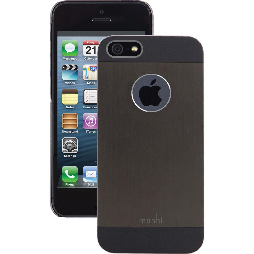 newest d337e 695ce Moshi iGlaze Armour for iPhone 5/5s/SE (Black)