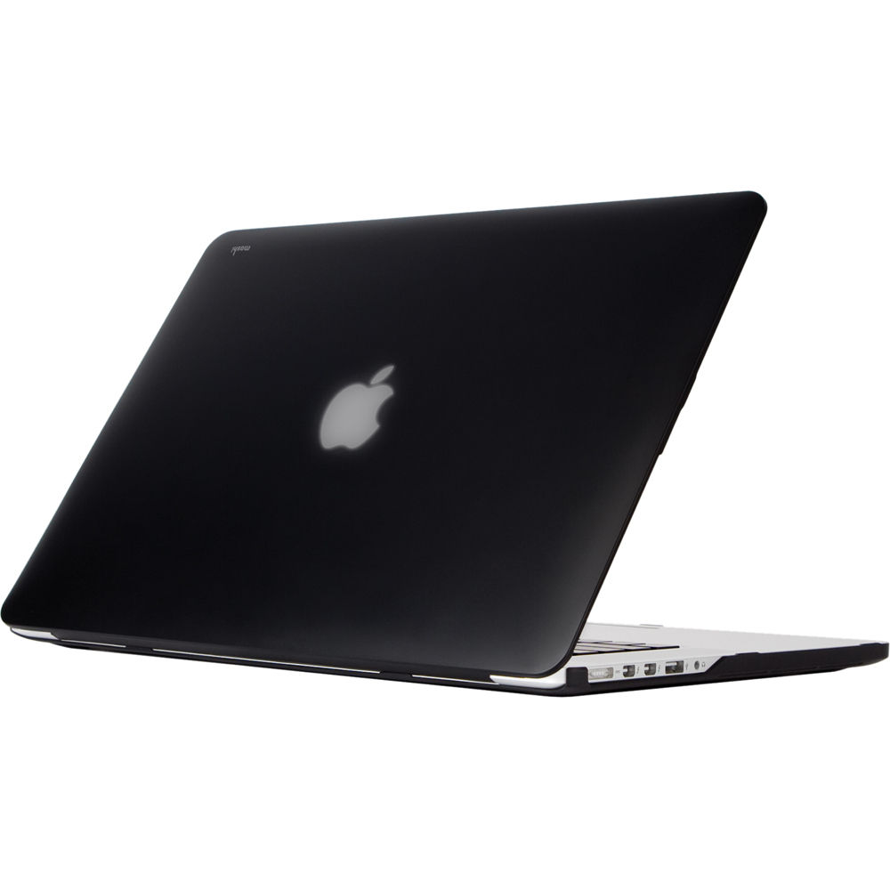 new product 3dfa8 92104 Moshi iGlaze Hard Case for MacBook Pro 15 with Retina (Stealth Black)