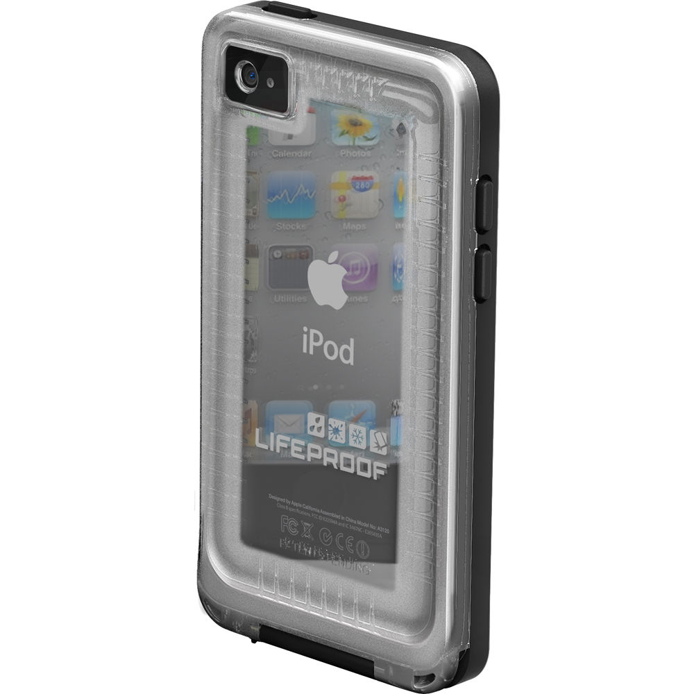 size 40 bf132 350eb LifeProof Waterproof Case for iPod Touch Gen 4 (Clear/Black)