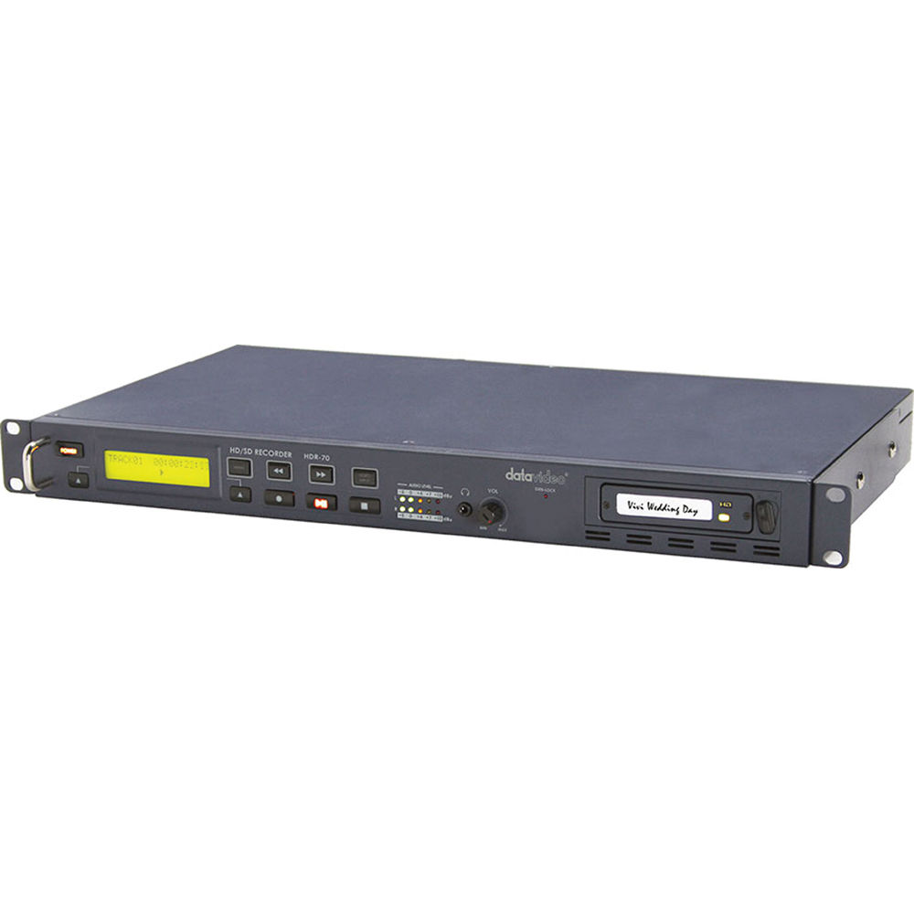 datavideo hdr 70 hdd recorder for sd hd sdi with removable hdr70 datavideo hdr 70 hdd recorder for sd hd sdi with removable drive bay
