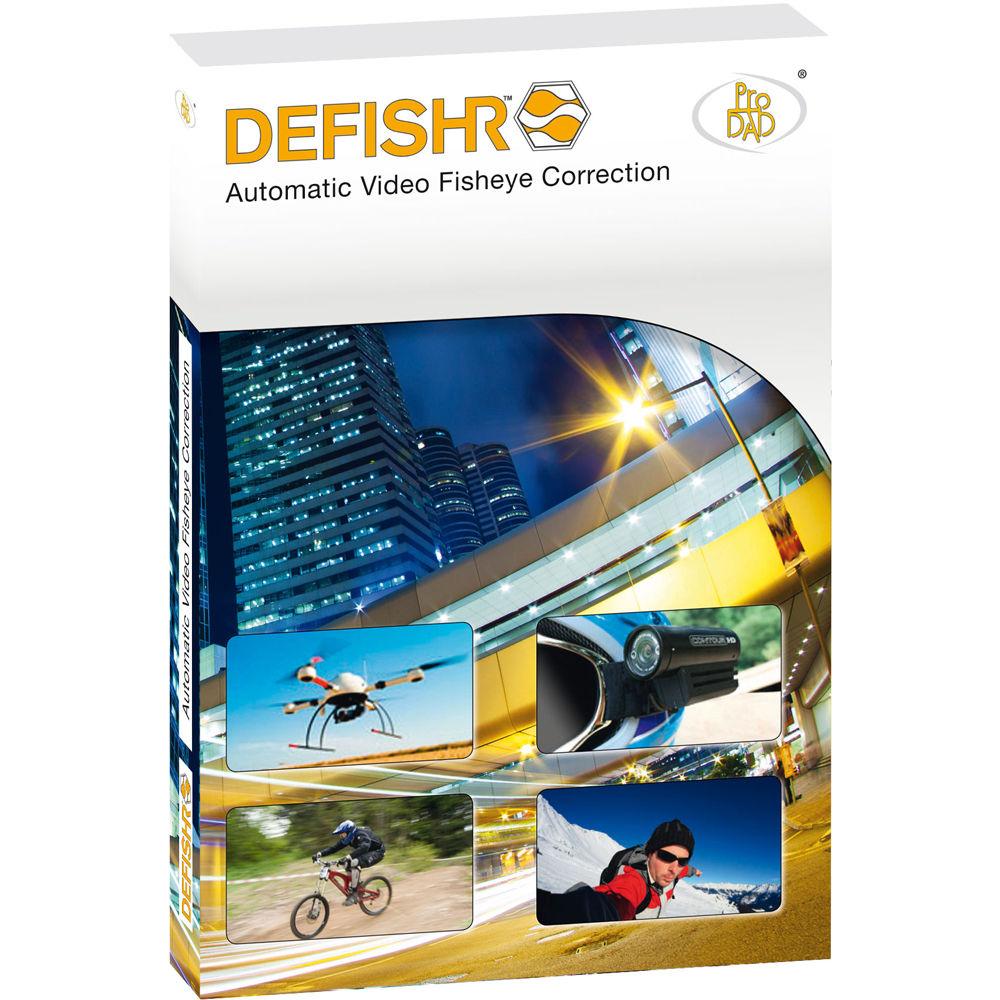 proDAD DEFISHR Fisheye Correction Software