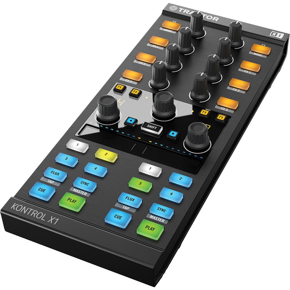 Native Instruments TRAKTOR KONTROL X1 Add-On DJ Controller
