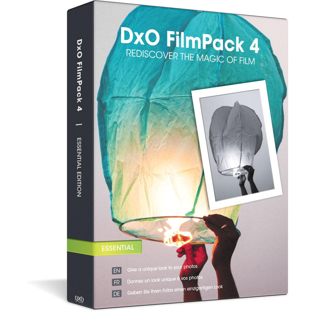 DxO FilmPack 4 Essential Edition Image Processing Software