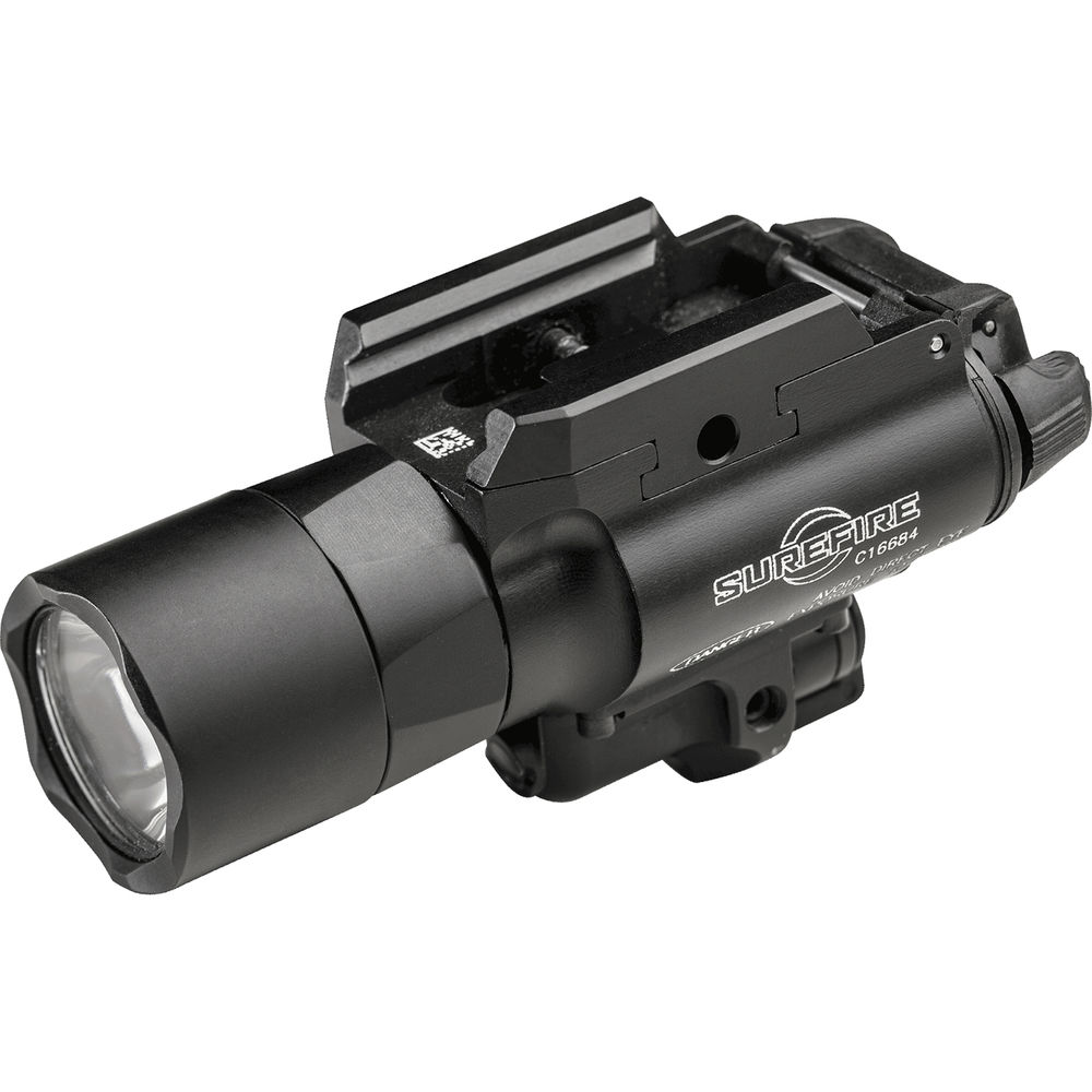 SureFire X400-A-GN Ultra LED Weapon Light with Green Aiming Laser Sight