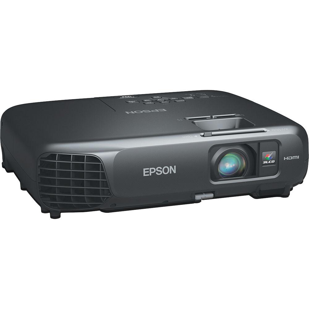 87a871e5dbf736 Epson PowerLite 1222 3LCD Projector V11H551120 B&H Photo Video