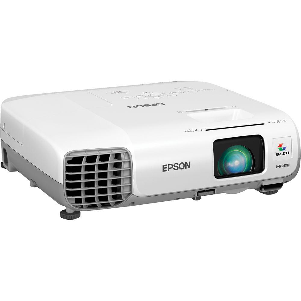 b3d90681840fe5 Epson PowerLite 965 XGA 3LCD Projector V11H583020 B&H Photo Video