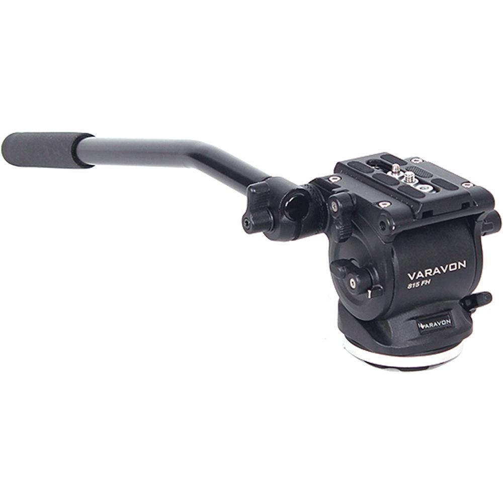 Varavon 815 Light Weight Video Camera Slider Tripod Flat Fluid Drag Head