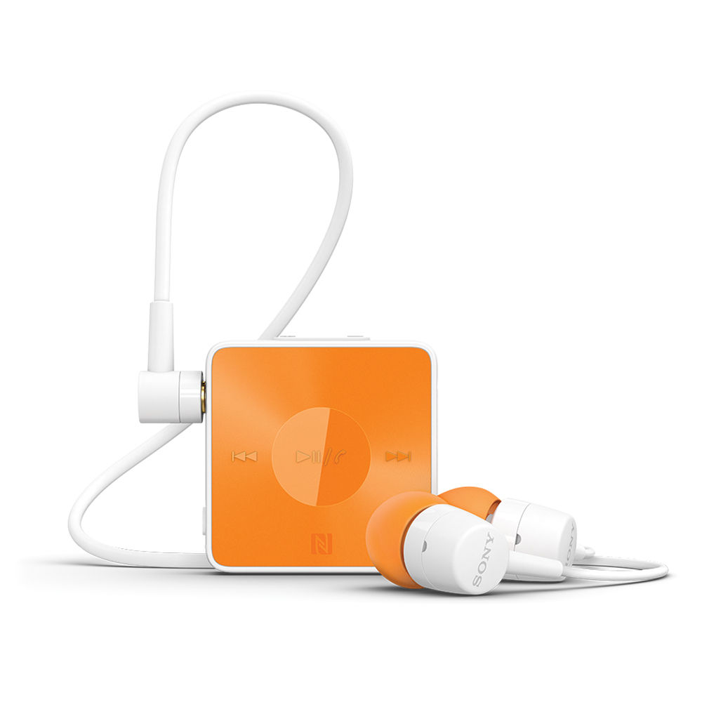 Sony Sbh20 Stereo Bluetooth Headset Orange 1275 8647 B H Photo
