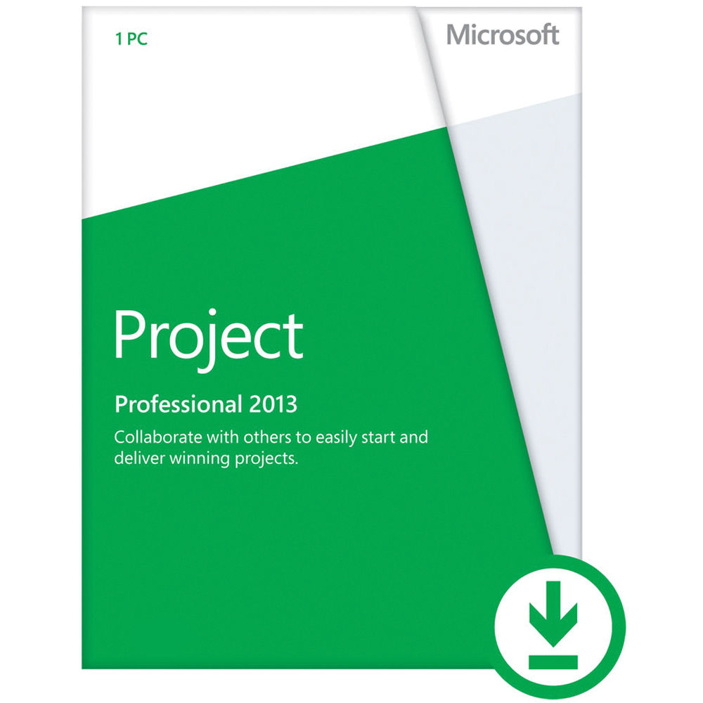 Microsoft Project Professional 2013 Download Aaa 01974 B H