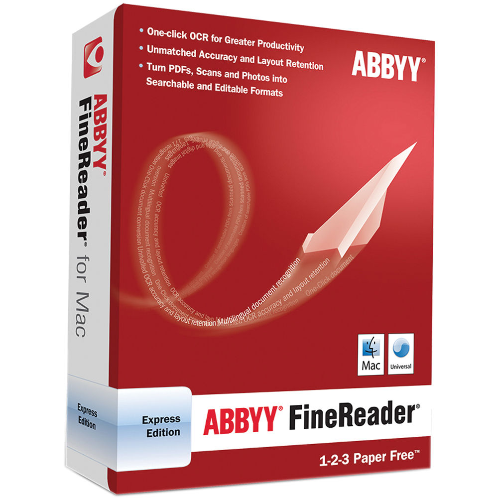 Abbyy Finereader Ocr Pro For Mac abbyy finereader express edition for mac (download)