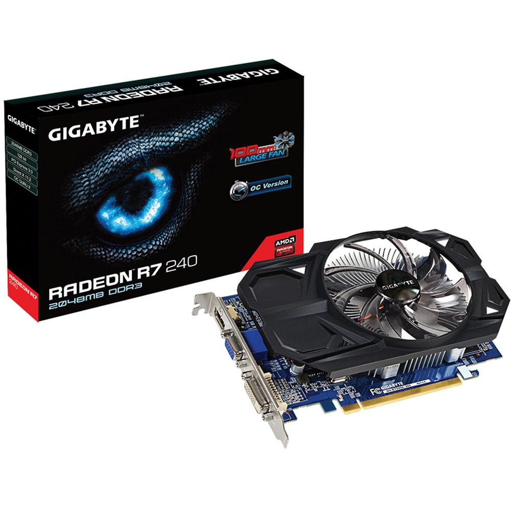 Gigabyte Radeon R7 240 Graphics Card