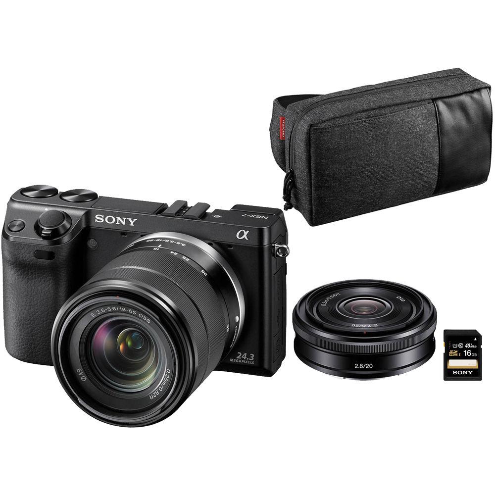 Sony Alpha Nex 7 Digital Camera Limited Editi Nex7k B2bdl B H