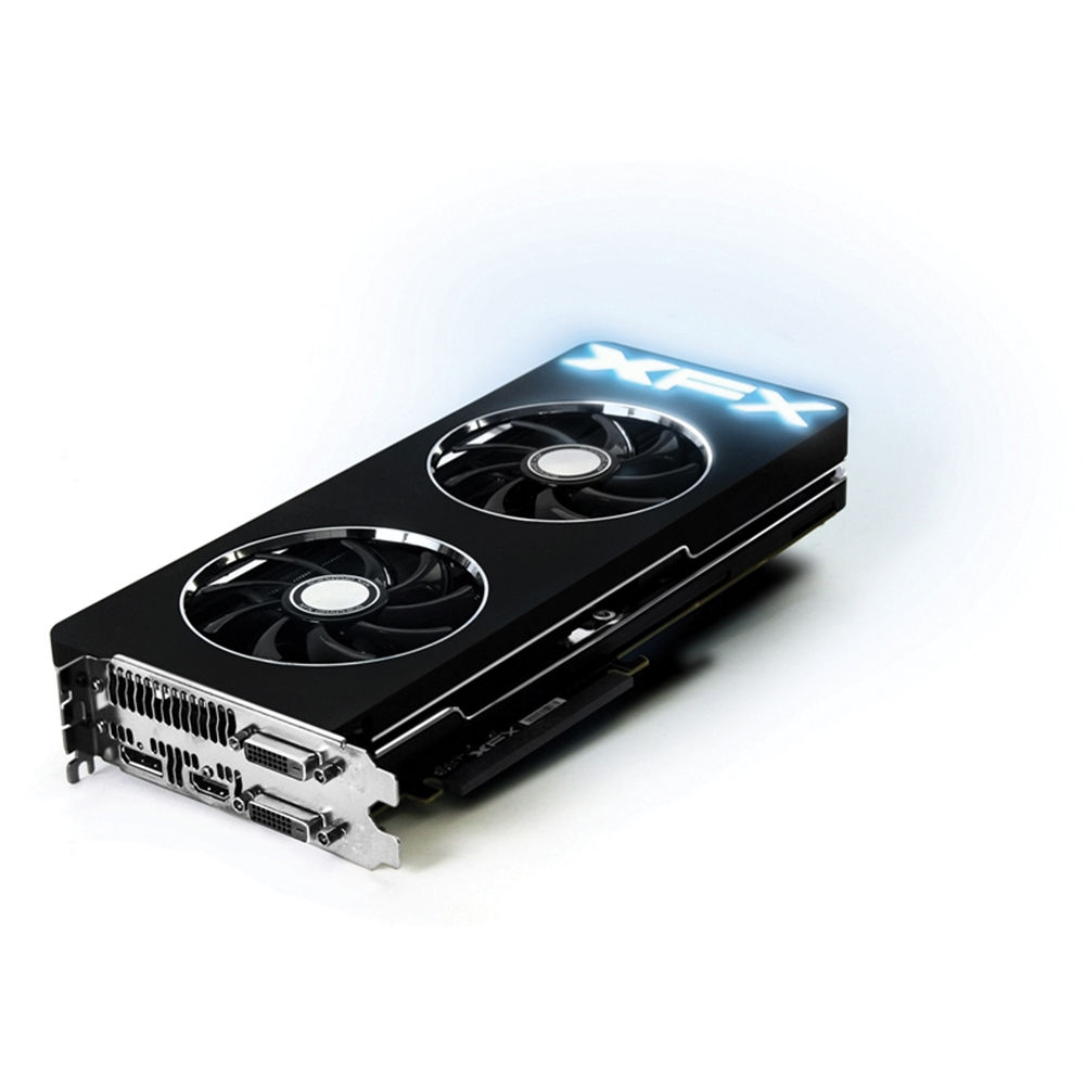 XFX Force Radeon R9 290X Graphics Card with Ghost 2 0 Thermal Solution  (1050 MHz)