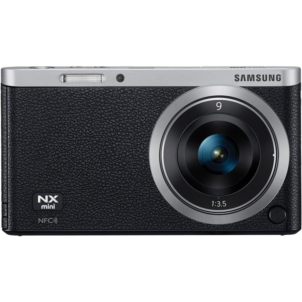 Samsung NX Mini Mirrorless Digital Camera with 9mm Lens (Black)