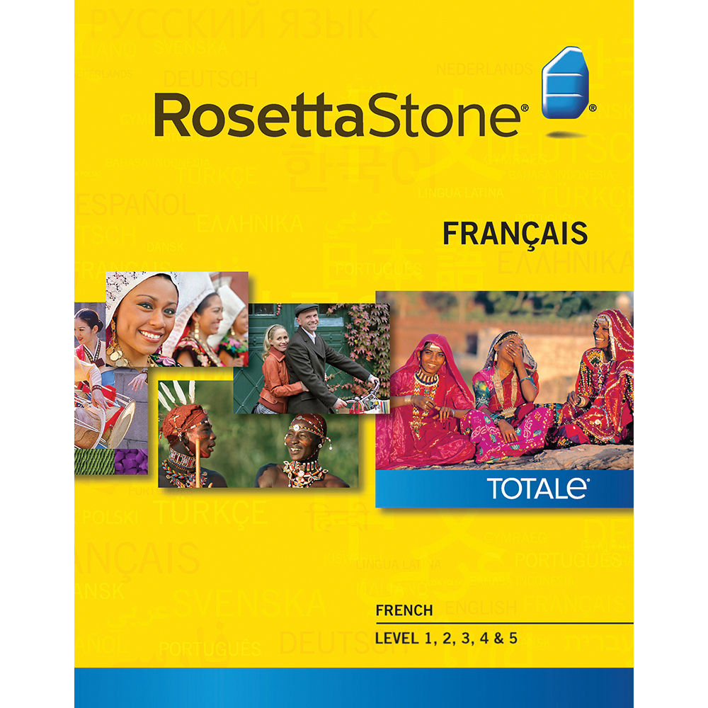 Rosetta Stone French Levels 1-5 (Version 4 / Mac / Download)