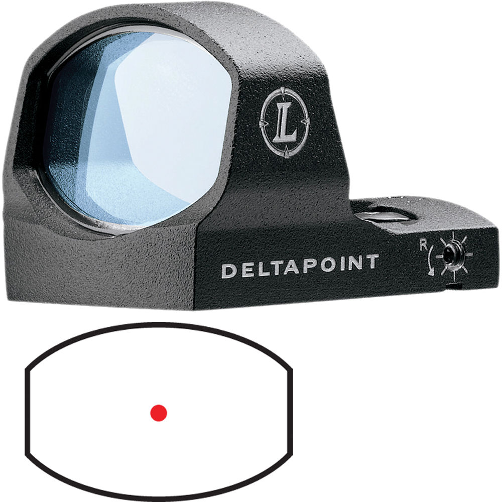 Leupold DeltaPoint Reflex Sight (3 5 MOA Dot Reticle)