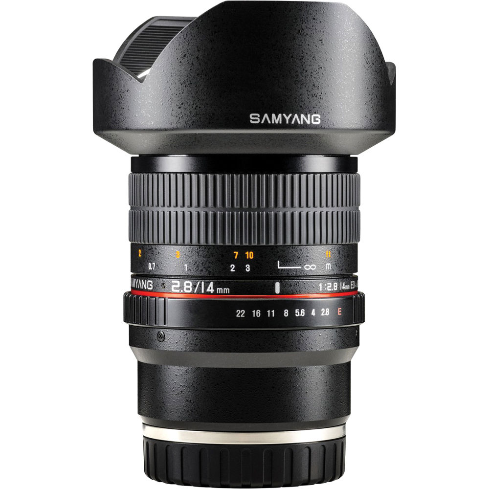 Samyang 14mm f/2 8 ED AS IF UMC Lens for Sony E Mount