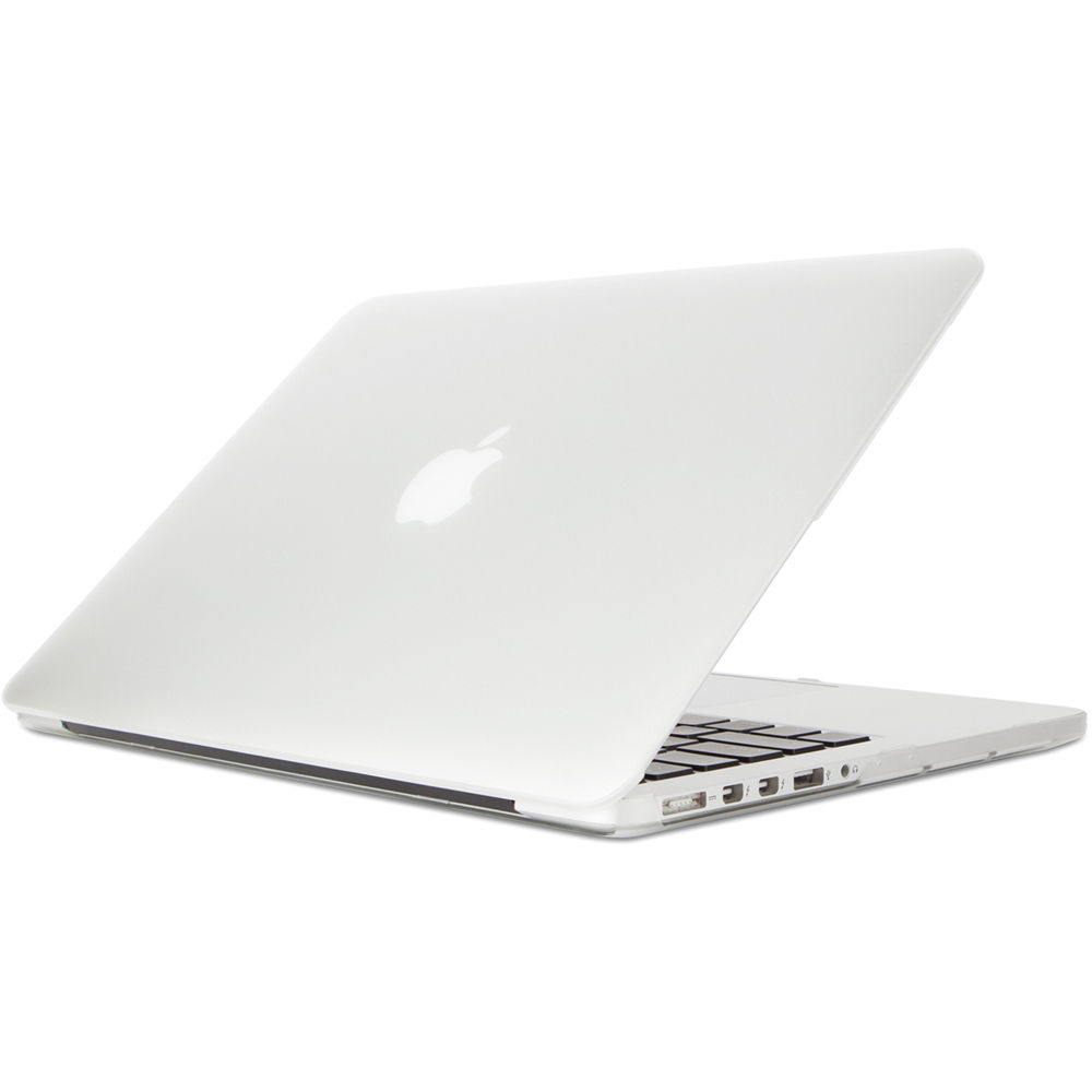 half off 76549 228a9 Moshi iGlaze Hard Case for MacBook Pro 13 with Retina (Stealth Clear)
