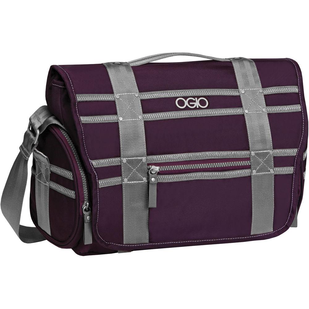 Ogio Monaco Messenger Bag Purple