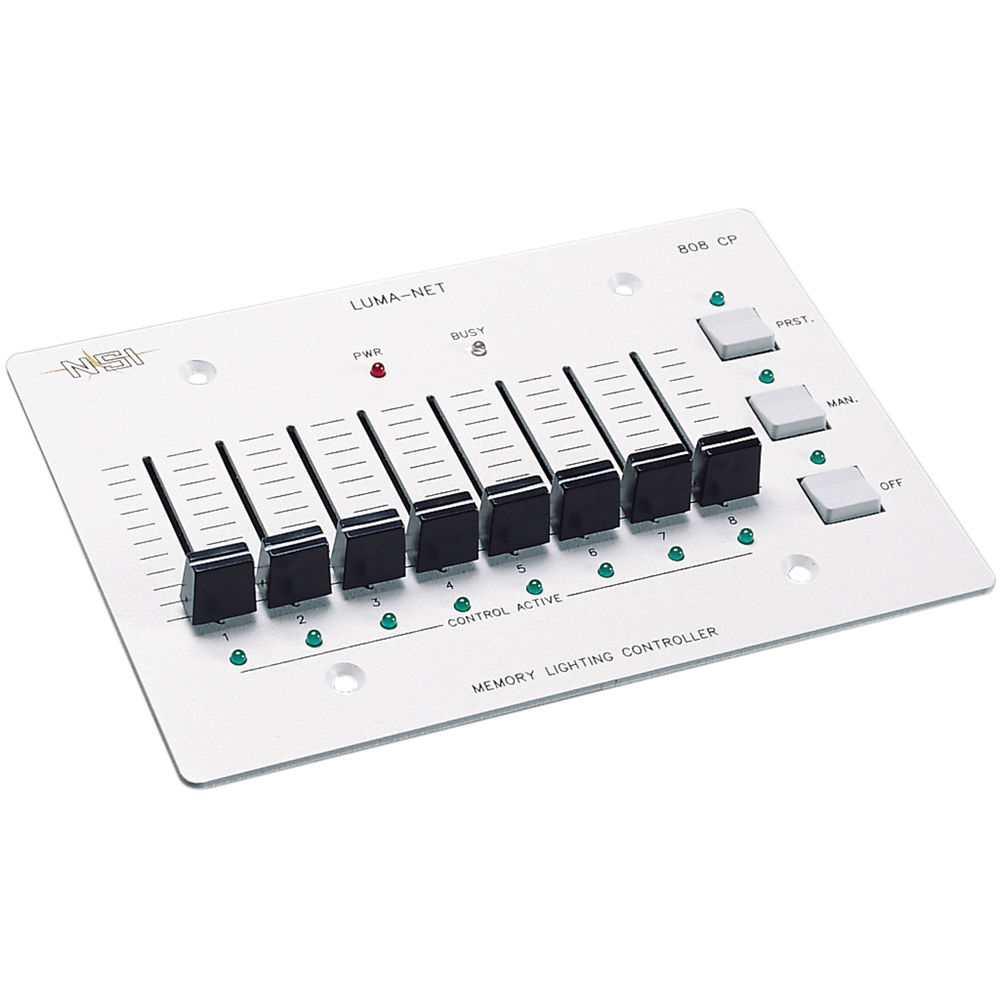 NSI / Leviton Luma-Net 808-CP Remote Memory Control N0808400CP0